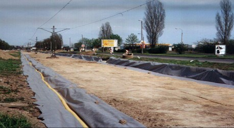 Road Drainage Systems with Typar Geotextile