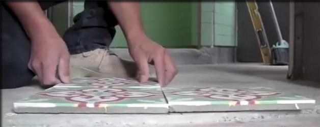How to Install Cement Concrete Tile