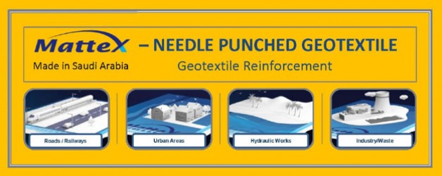 Mattex Needle Punched Geotextile
