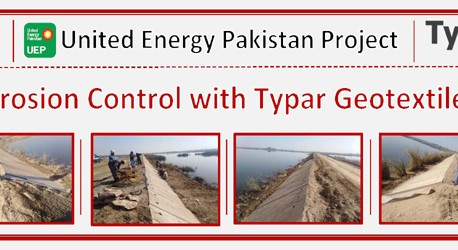Erosion Control with Typar Geotextile