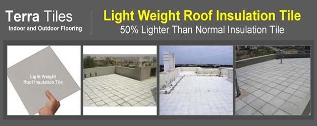 Light Weight Roof Insulation Tile