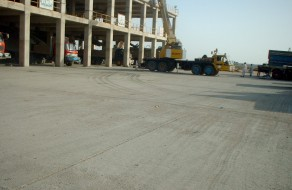 Concrete Pavement - Lucky Cement Project