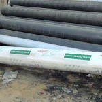 1-Typar Geotextile at Site