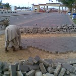 C-Removing Damaged Paver at PF Museum 17 Aug 11-B