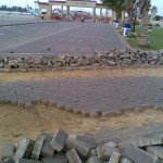 D-Removing Damaged Paver at PF Museum 17 Aug 11