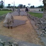 E-Removing Damaged Paver at PF Museum 17 Aug 11