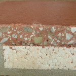 Roof Insulation Tile Close Up