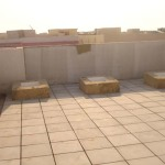Roof Insulation Tiles, Courtesy byTariq Qaiser Architects, TAQ