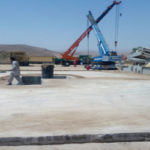 Fibre Reinforced Concrete Oil Well Pad