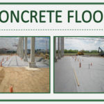 Concrete Floor with DuPont Typar